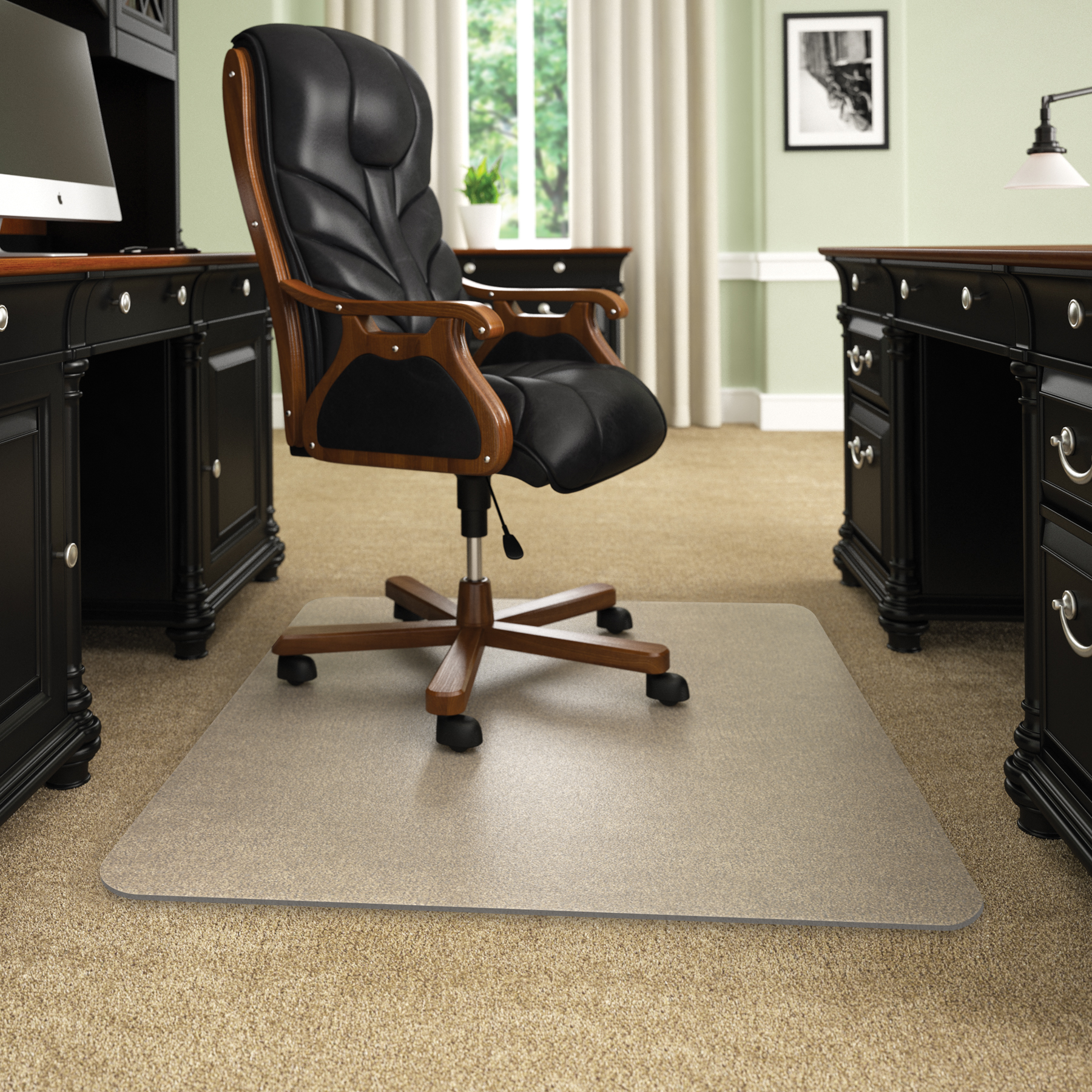 desk chair mats slip covers execumat thickest best selling opaque