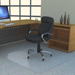 Office Chair Mat 45 X 60 Brushed Metal Chairs The No Dishing Chairmat Made From Poly Carb Non Studded