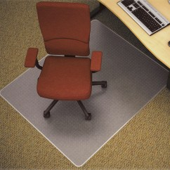 Office Chair Mat 60 X 72 Fold Up Wheelchair Standard Semi Clear Medium Duty Mats