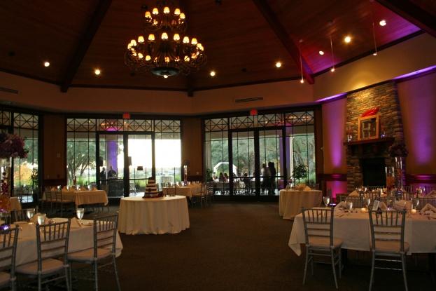 a chair affair used rocking chairs redtail golf club: amanda and wayne's purple & silver wedding - affair, inc.