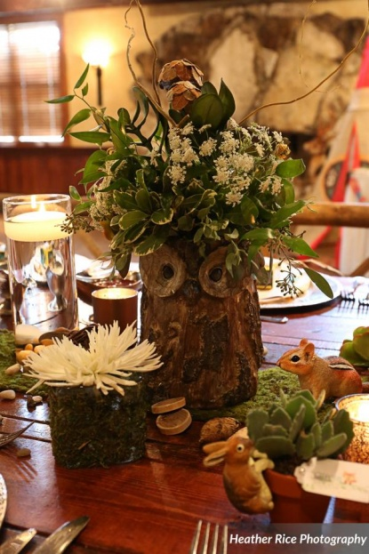 Dubsdread Catering Woodland Baby Shower  A Chair Affair