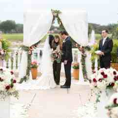 Chiavari Chairs Wedding Ceremony Cross Back Dining White Mission Inn Resort Red And Gold A Chair Affair
