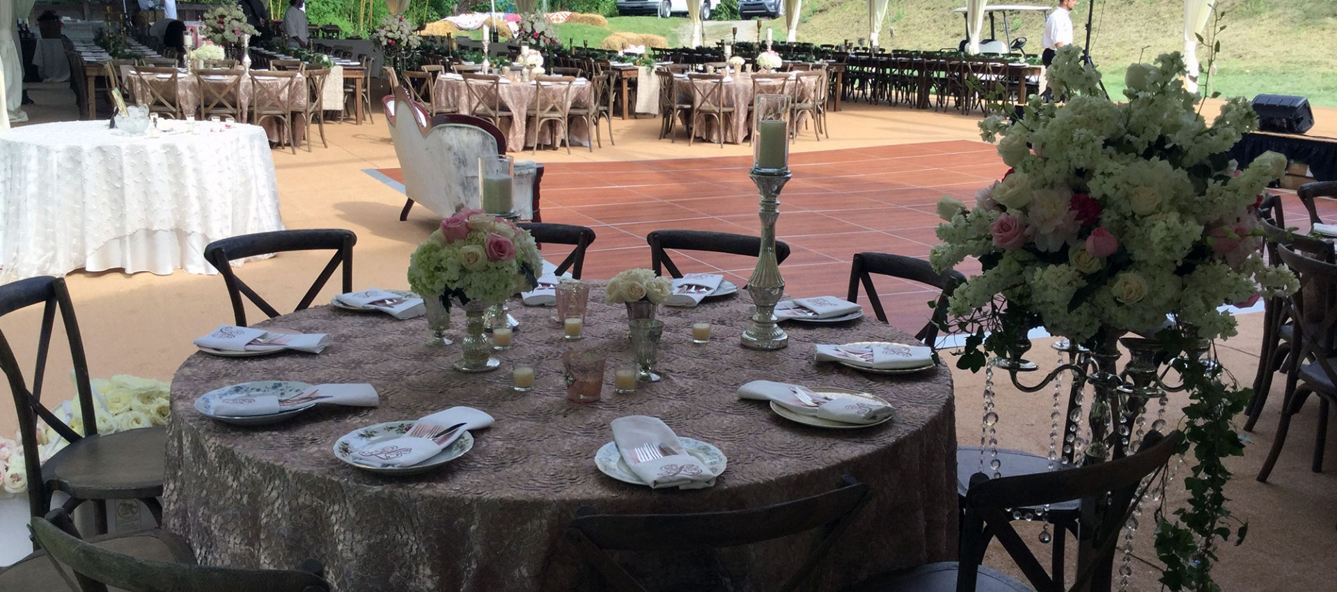 chair cover rentals halifax upholstered toddler equipment party tent wedding table tops cutlery and candles for rent