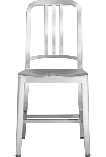 EMECO NAVY 1006 CHAIR BRUSHED
