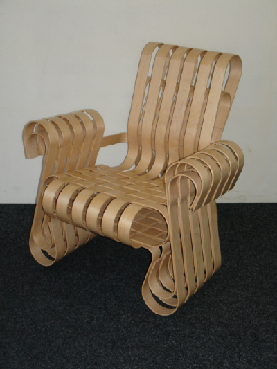 Power Play Chair by Frank Gehry