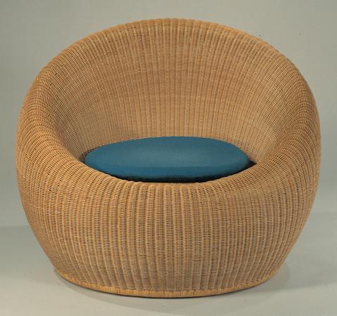 round wicker chair how much is a massage rattan by isamu kenmochi chairblog eu