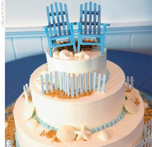 beach chair cake