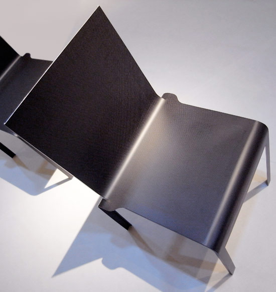 Carbon Chair by Shigeru Ban