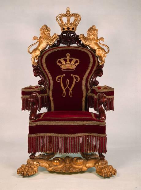 Horrix Throne King William III NL
