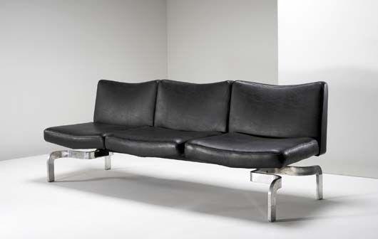 Maison Jansen Sofa at Phillips de Pury  Co  Chairblogeu