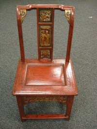 Antique Chinese Wedding Chair - Chairblog.eu