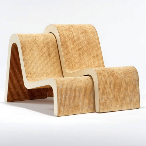 frank gehry chair best console gaming pair of nested chairs by o chairblog eu nesting