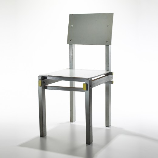 Military Chair by Gerrit Rietveld at Wright front