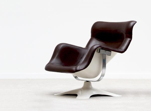 Karuselli Swivel Chair by Yrjö Kukkapuro