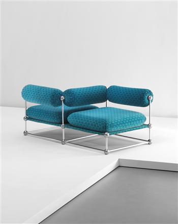 Verner Panton Conversation Chair no. S 420