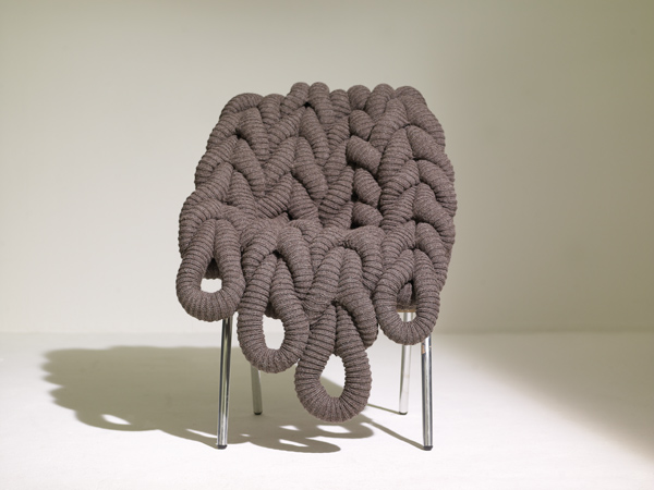 British Wool Chair by Claire-Anne O'Brien