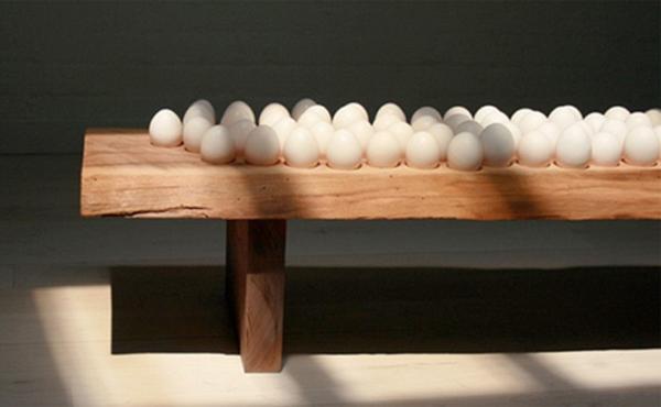 Egg Bench By Grace Chen