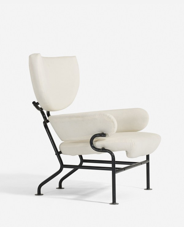 Franco Albini Wing Chair side
