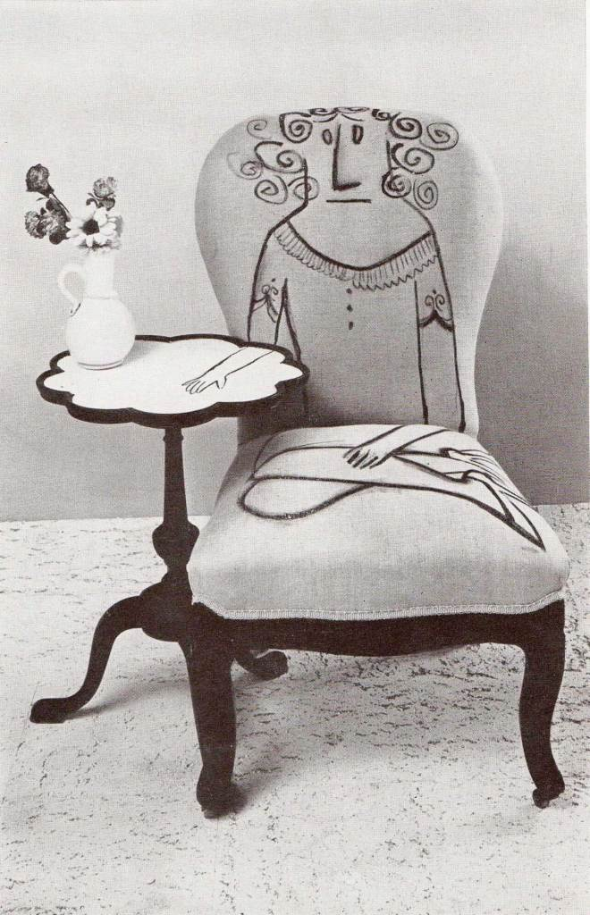 Chair by Saul Steinberg for Flair