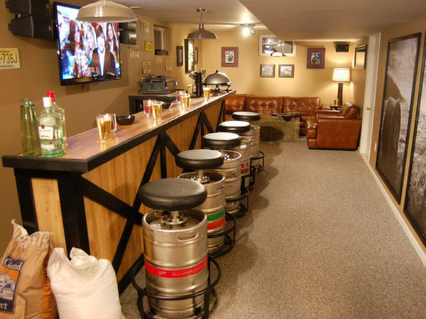 whiskey barrel pub table and chairs lawn usa beer bar stools - chairblog.eu