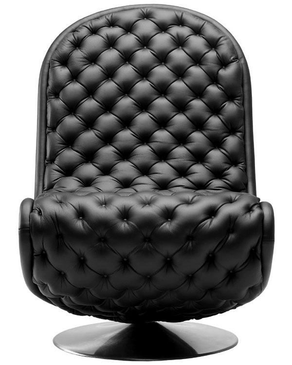 Black Verner Panton S Chair