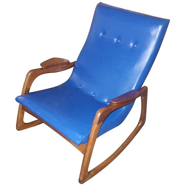 adrian pearsall rocking chair best chairs geneva glider caviar velvet blue craft associates rocker chairblog eu