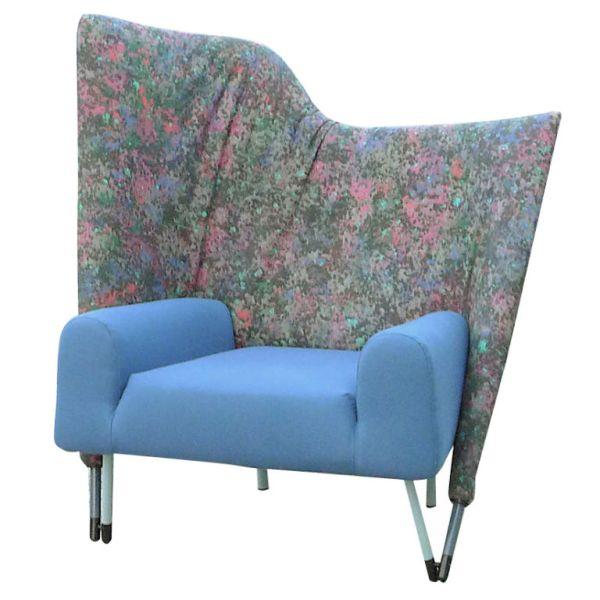 Blue Torso Chair by Paolo Deganello