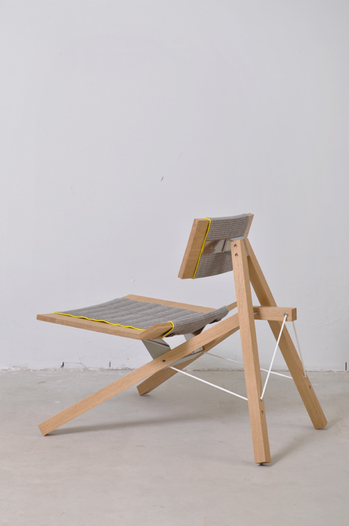 Chair 2011 by Lotty Lindeman and Wouter Scheublin side