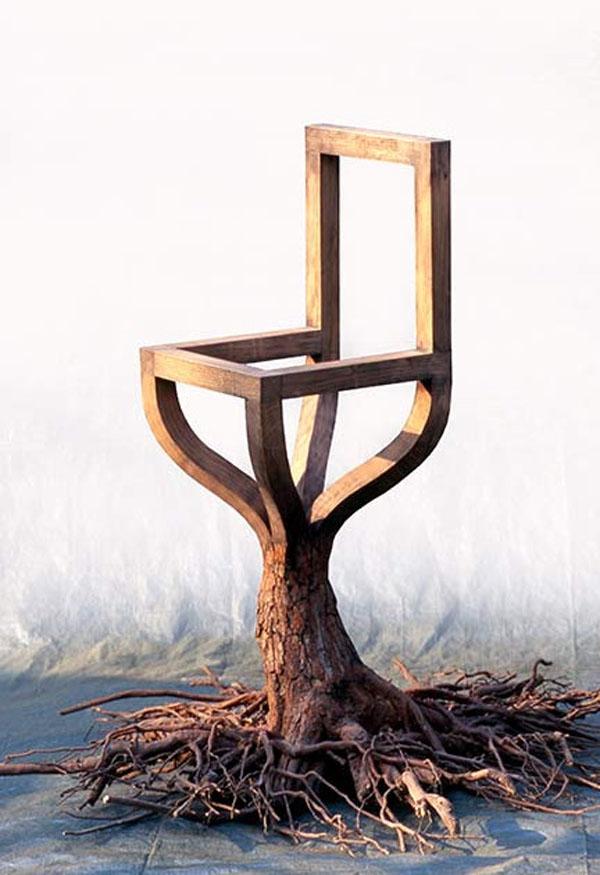 Chair 5 by PAWEL GRUNERT Side