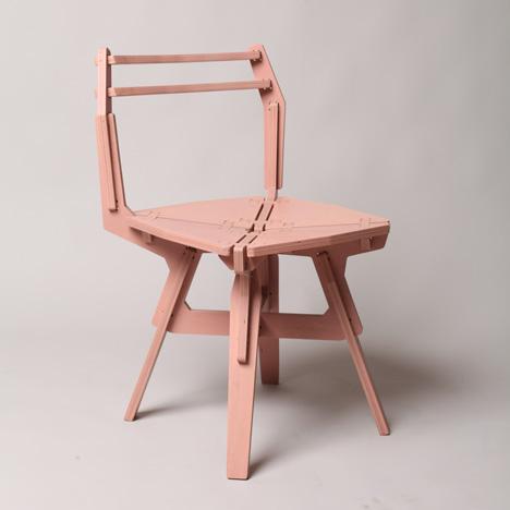Flatpack Chair by Konstantin Achkov