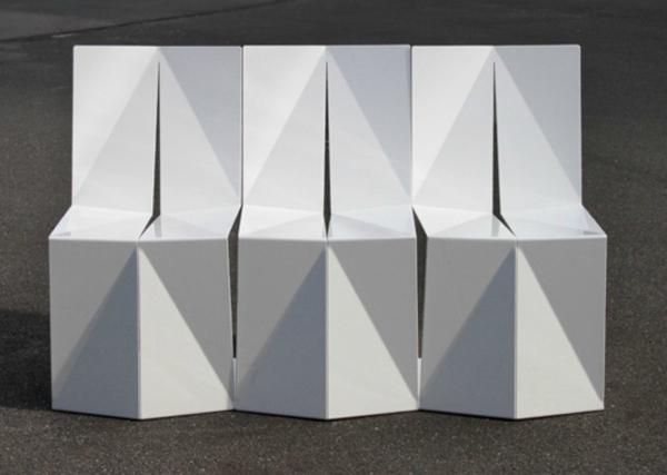 Folded Chair by Enoc Armengol