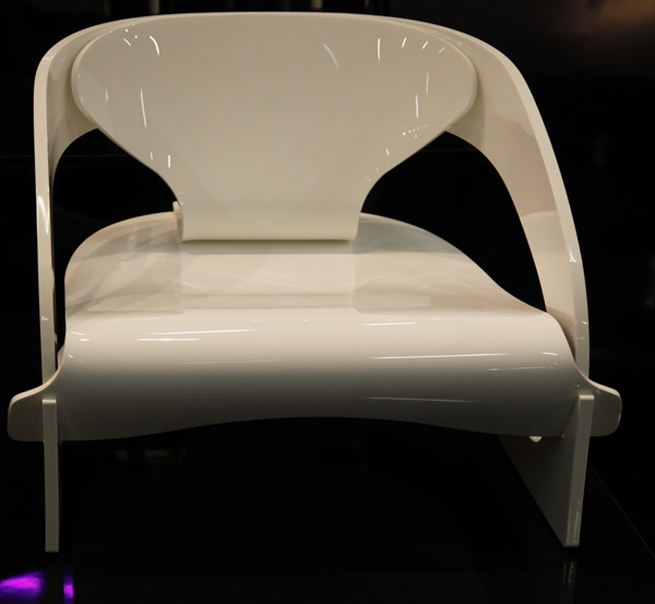 Joe Colombo Chair  4801 Chair Reissued by Kartell