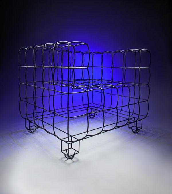 Kubus or Cube Armchair by Jan Plechac
