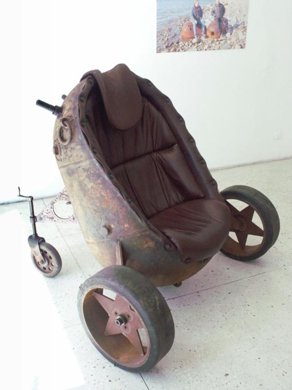 Royal Mine Chair by Mati Karmin