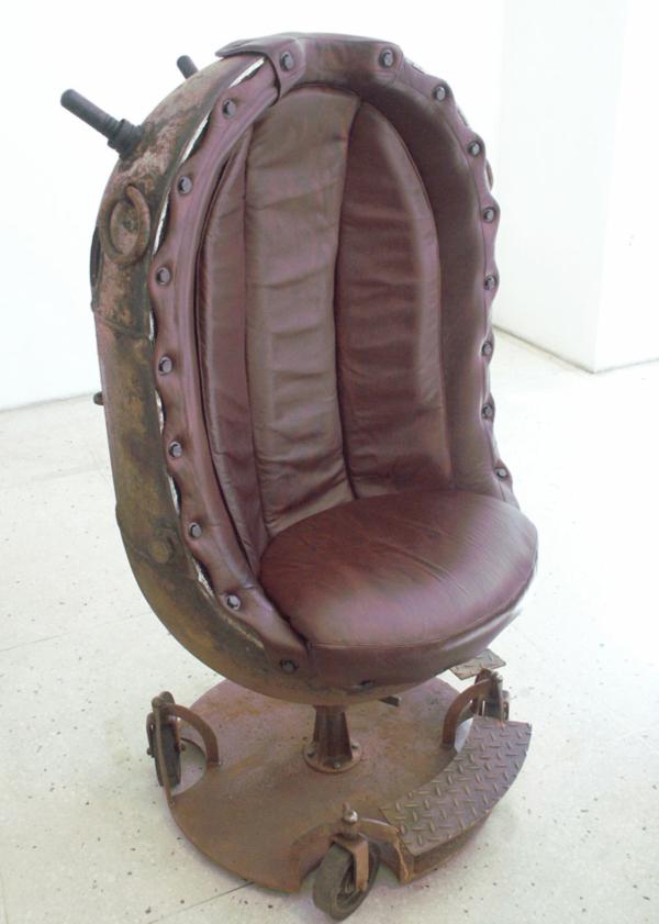 The Boss Mine Chair by Mati Karmin