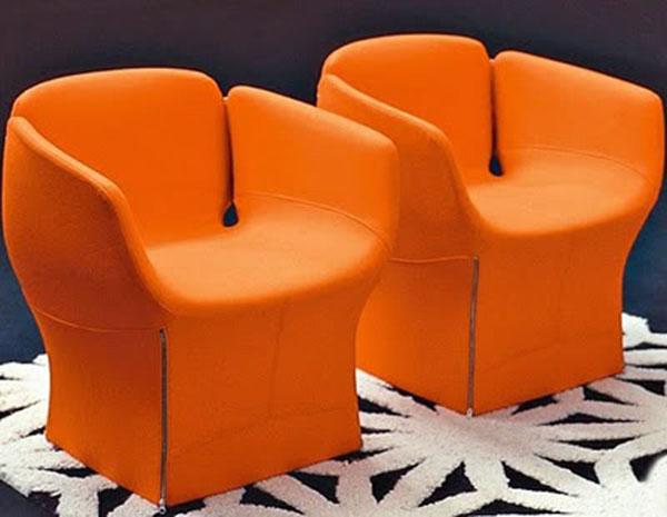 Orange Bloomy by Patricia Urquiola
