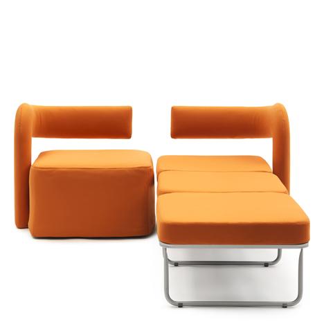 Orange Virgola by Giulio Manzoni As Sleeper