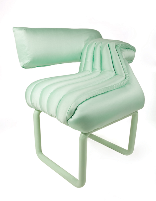 Mint Puffy Lounger by Carnevale Studio  Milan 2012