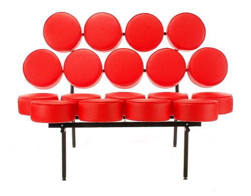 Red Marsh Mellow Sofa