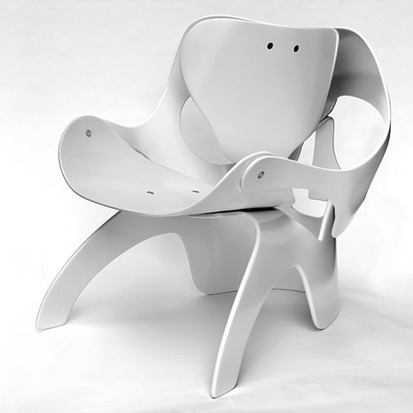 Another Skull Chair by Vladi Rapaport