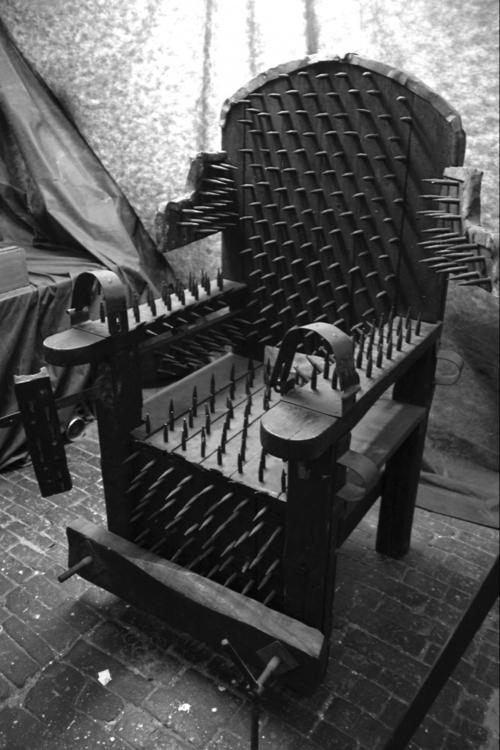 Spikey Torture Chair
