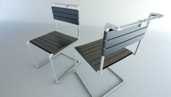 Terrific Henrich Zrubecs Concept For A Wooden Folding Chair Ncnpc Chair Design For Home Ncnpcorg