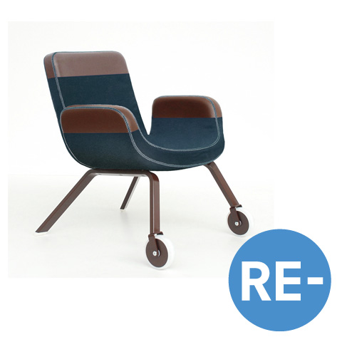 RE-Lounge Chair for the UN North Delegate Lounge