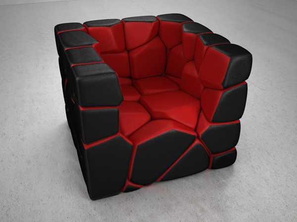 Vuzzle-Chair-by-Christopher-Daniel-Red-Interior