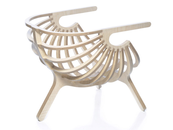 Shell Chair by Marco Sousa Santos