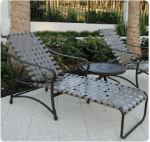 Vinyl Strap Patio Furniture - Ideas