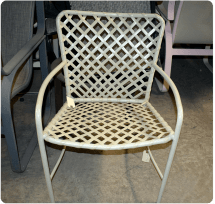 Chair Care High End Patio Furniture Restoration