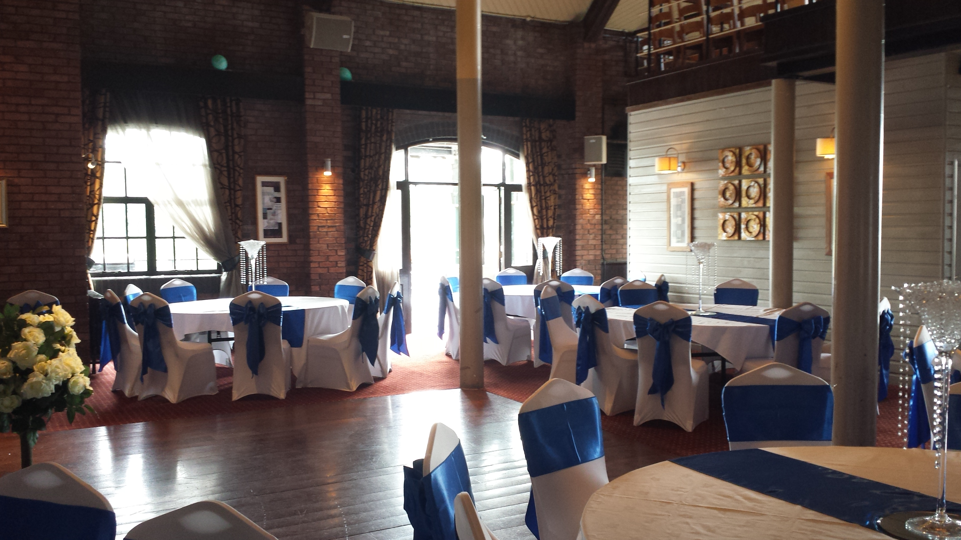 wedding chair covers cardiff ikea preben sash colours and bows