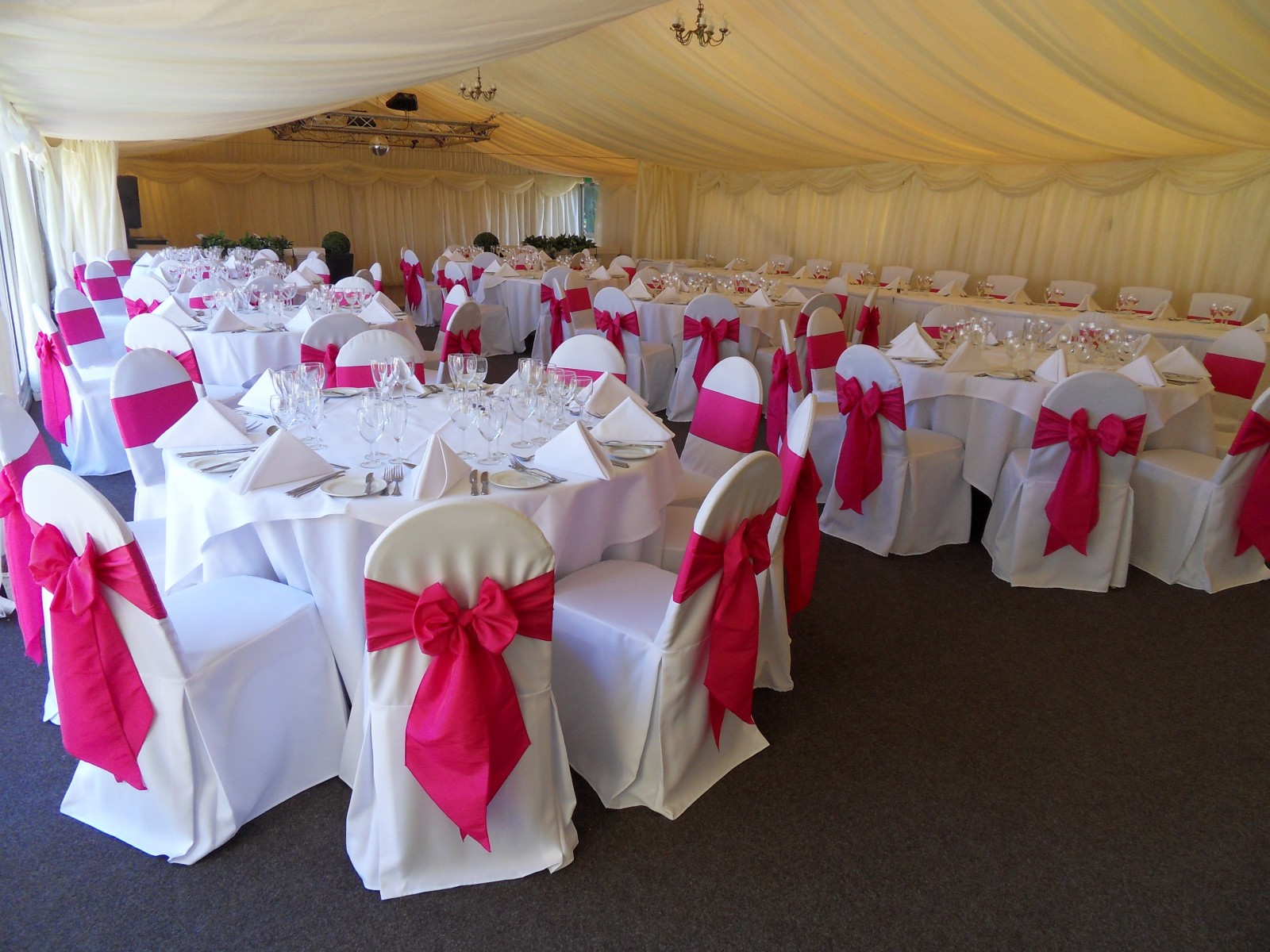 chair covers and sashes hampshire tufted back beau events  specialist