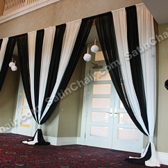 Satin Chair Covers Rental Naperville Il Dxracer Ergonomic Executive Backdrops – Rent In Chicago And Suburbs | Event Decor By